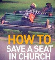 save a seat