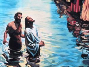 die in the waters of baptism
