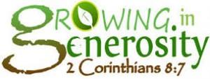 growing generosity