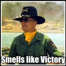 smells like victory