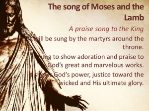 song of moses and the lamb