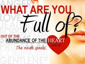 heart mouth speaks