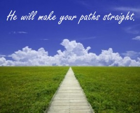 straight paths