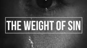 weight of sin