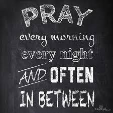 when should i pray
