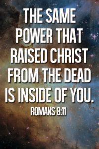 Image result for same spirit that raised christ